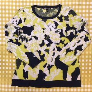2 for $20 abstract floral sweater